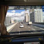 JR東海バスのビジネスシートに乗車 (名古屋-東京)